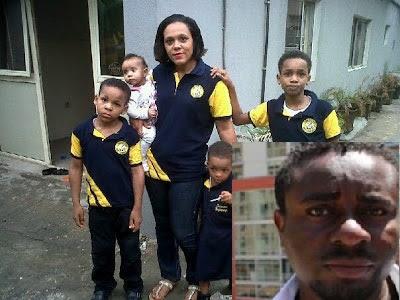 Actor Emeka Ike Dumps Wife,Splits The Kids And Runs Off To Abuja @9jasouth