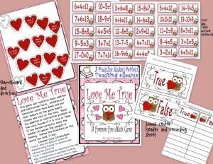 Love Me True Math_PDF