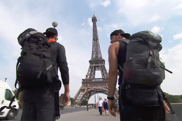 2. Low: #TeamTexas stopped to do some sightseeing in Paris and lost their lead.