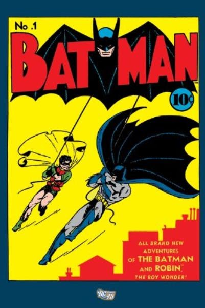 Batman And Robin Comic Book Covers