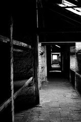 Auschwitz Birkenau - inside a women's barrack
