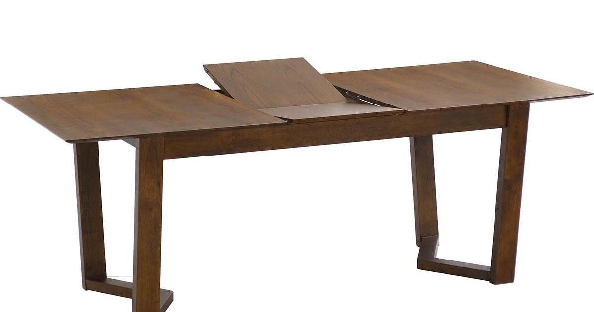 Les concepteurs artistiques table a manger bois massif for Table extensible 3 suisses