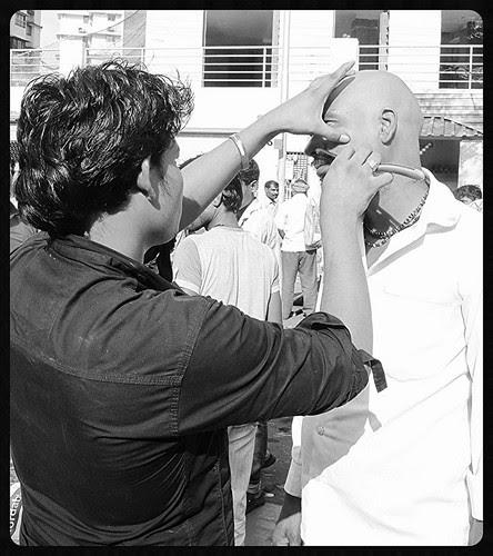 The Barbers Of Banganga - Shamat Aur Hajamat by firoze shakir photographerno1