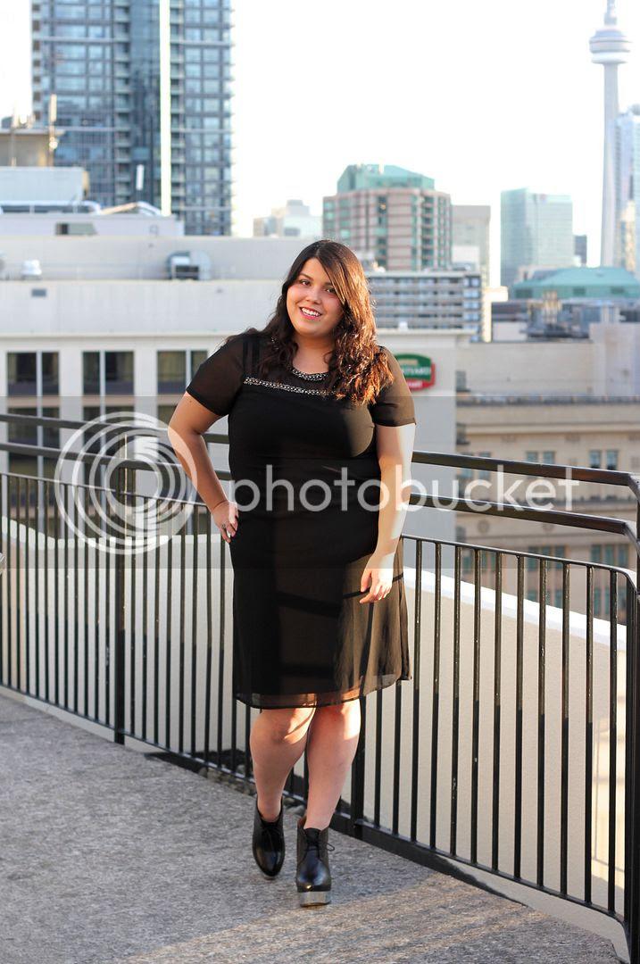Carmakoma Kadina Jacket Junarose Embellished Shift Dress plus size fashion plus size toronto canada fashion acne atacoma wedges