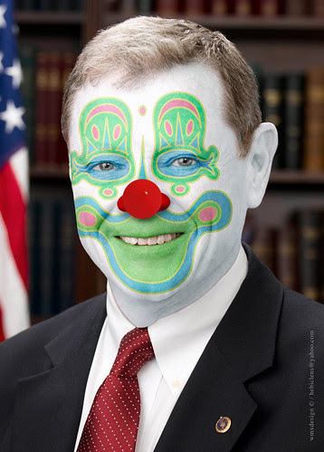 Sen. James Inhofe, (R-Clown)