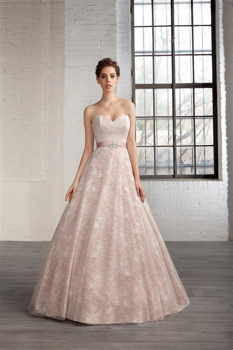 The Best Pink Wedding Dresses   hitched.co.uk