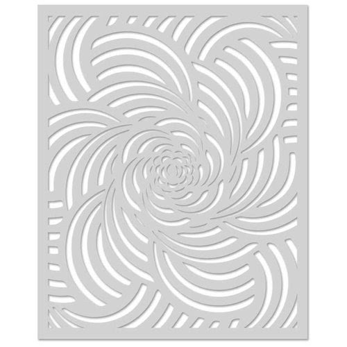 Spiral Petal Stencil by Hero Arts