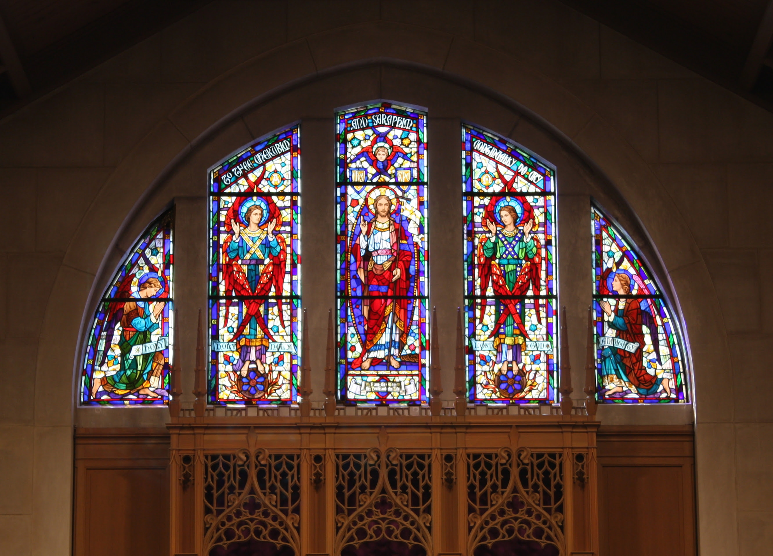 Restoring Stained Glass Windows At White Plains Presbyterian Church