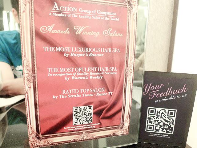 action hair salon awards