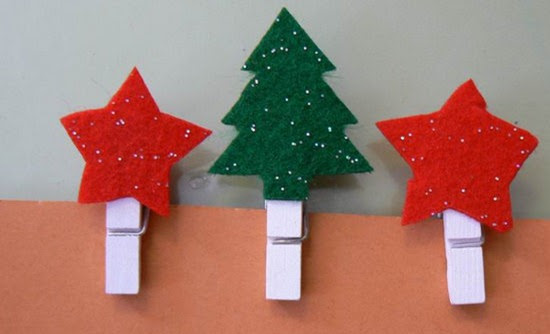 pinzas navideñas