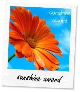 "Ho ricevuto il premio ""Sunshine Award"""