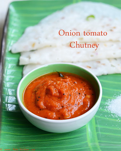 onion tomato chutney recipe