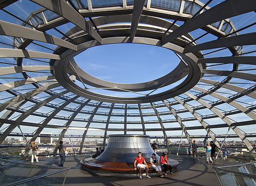 Roof Reichstag Dome, Berlin, Germany