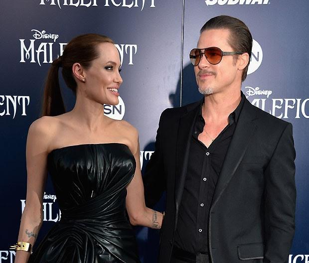 Angelina Jolie e Brad Pitt se casaram no sábado (23) (Foto: Getty Images)
