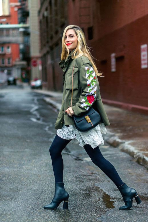 Le Fashion Blog 7 Army Jackets To Add Toughness Via Harpers Bazaar