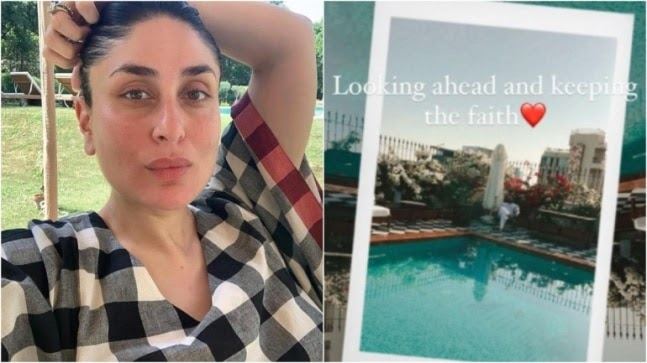 Kareena Kapoor shares glimpse of Saif Ali Khan relaxing by rooftop pool. See pic https://ift.tt/3arUpxE