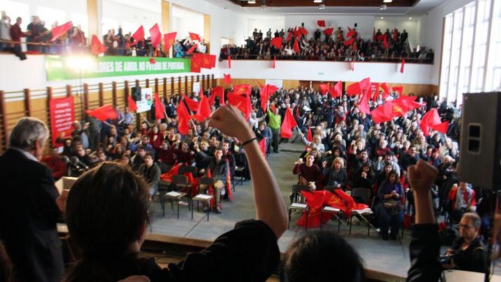 «Prosseguiremos a nossa luta determinados em dar resposta às aspirações dos trabalhadores e do povo»
