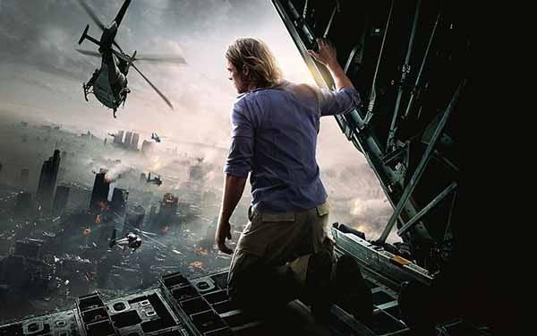 Imagem de 'Guerra Mundial Z' (2013) (Foto: Divulgação)