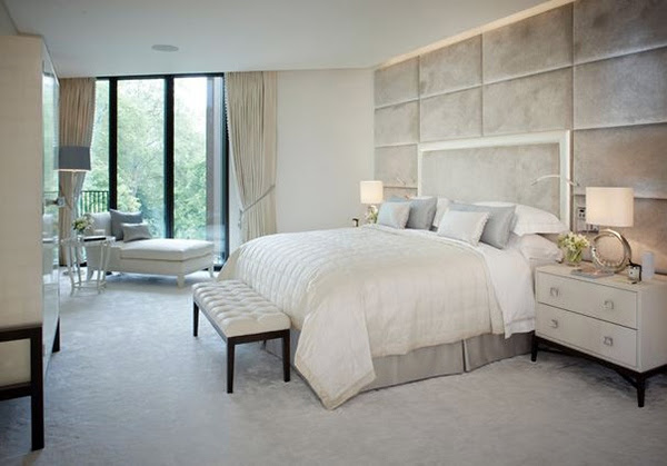 Bedroom design and wall colors – charm and luxury in the bedroom