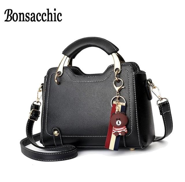 b285be4c08e Cheap Bonsacchic Small Women Bag With Short Handle Crossbody Bags ...