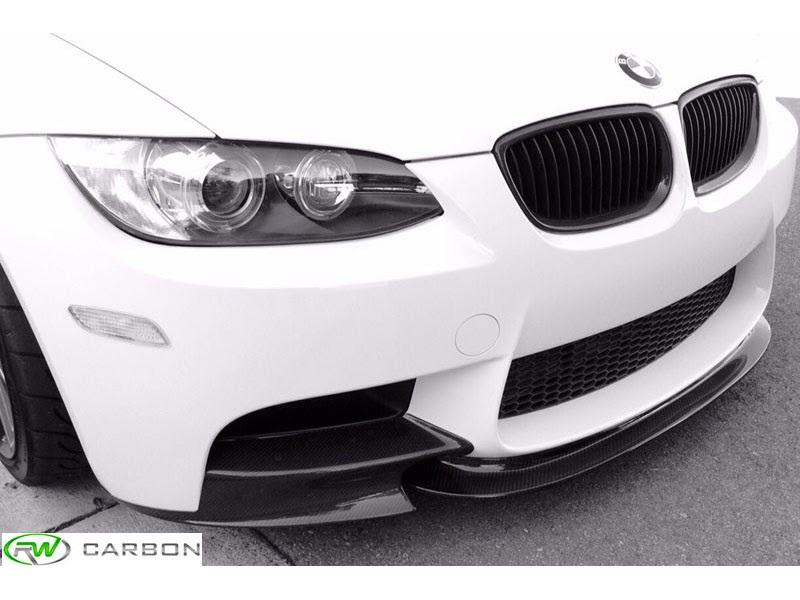 BMW E90 E92 E93 M3 CRT Style Carbon Fiber Front Lip Spoiler Splitter
