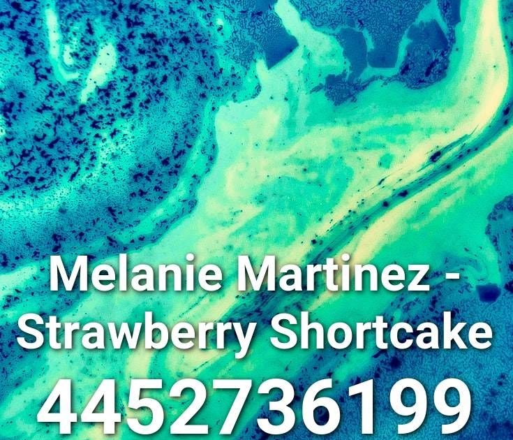 Numbers Melanie Martinez Roblox Id