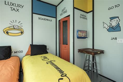 Monopoly Bedroom at The Great Escape Lakeside