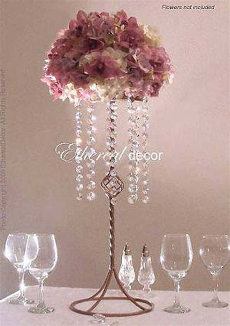 DIY Flower Centerpieces tall for weddings   Related Posts