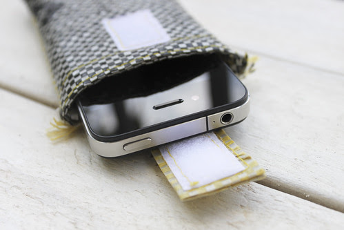 iPhone Kartoffelsack-Hülle