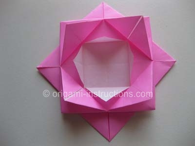 Origami lotus flower tutorial | How to make a paper lotus (water ... | 299x400