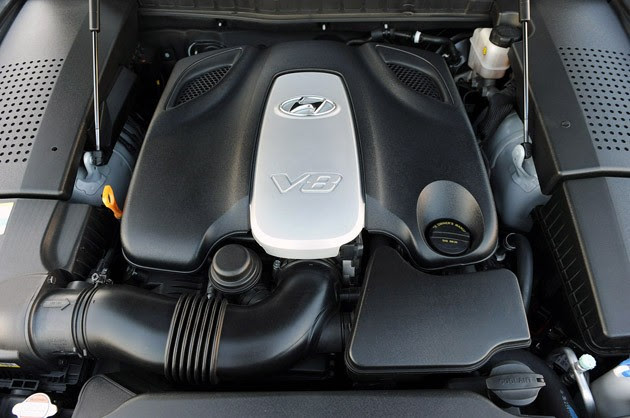 2011 Hyundai Equus Ultimate engine