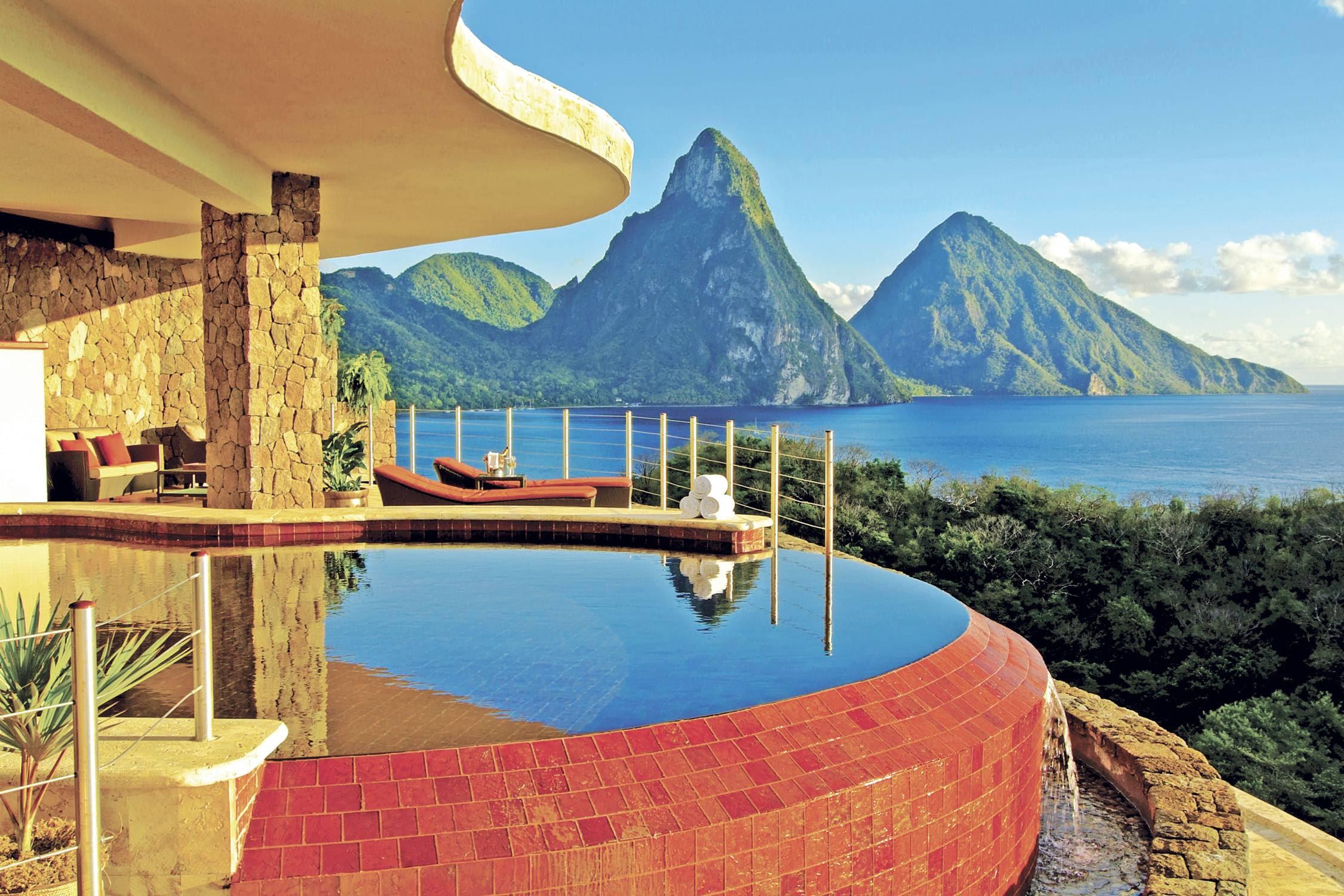 Haute Winter Destination Jade Mountain Resort St Lucia