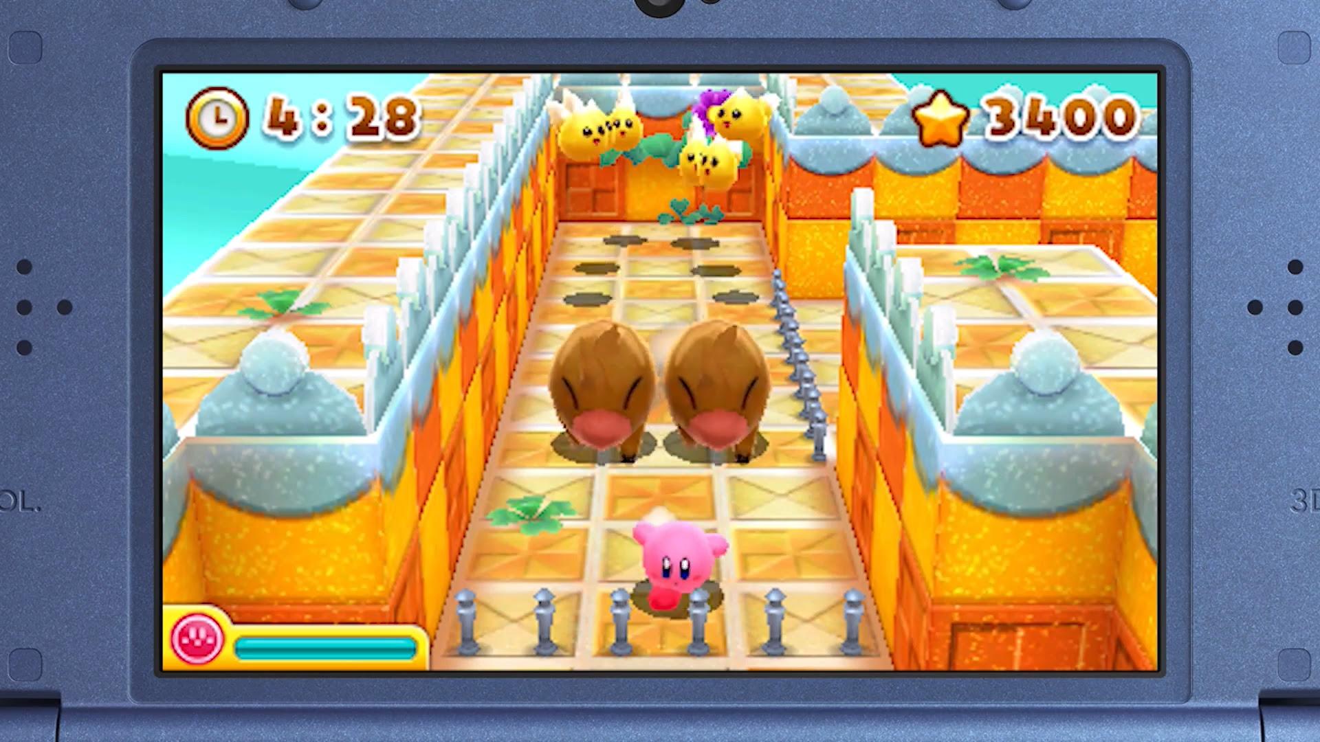 Nintendo Download: Kirby's Blowout Blast screenshot