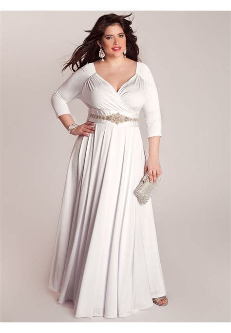 Bellerose Wedding Gown   Plus Size Special Occasion