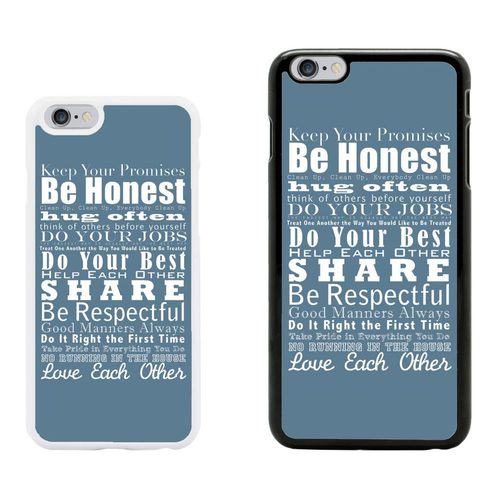 Sayings Quotes Case Cover for Apple iPhone 6 \u0026 Plus  A4