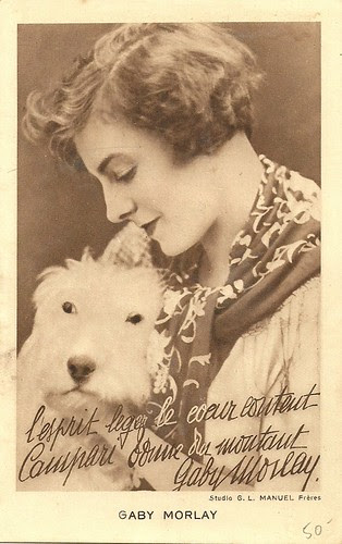 Gaby Morlay, publicity for Campari