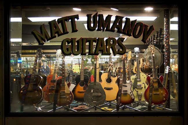 Matt Umanov, NYC