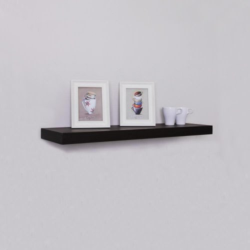 Welland 48 Inch X 12 Inch X 2 Inch Houston Wall Shelf Display