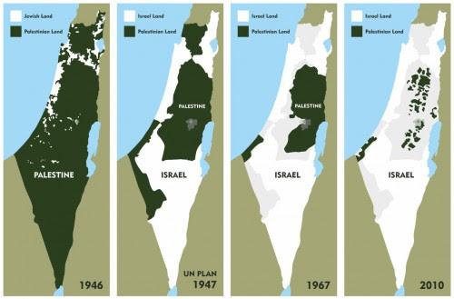 palestine-israel-map