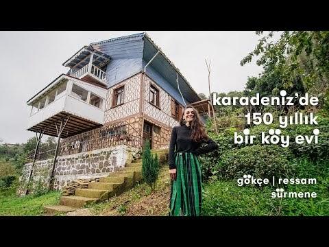 Sürmene'de Çöp Üretmeyen Ekolojik Bir Köy Evi