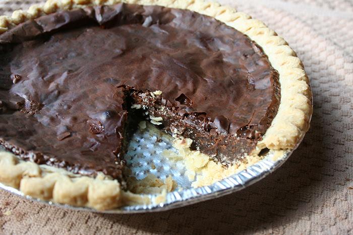 3 Ingredient Sweetened Condensed Chocolate Milk Pie ...