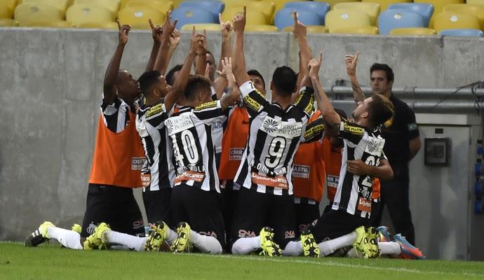 Gol Lucas Lima Flamengo x Santos Maracanã (Foto: André Durão)