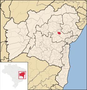 Localização de Baixa Grande