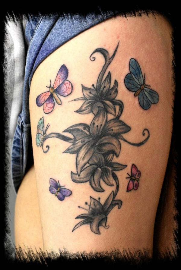 38 Lily Flower Tattoo Designs Pretty Designs