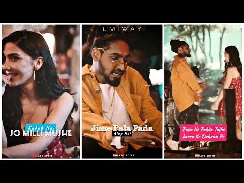 EMIWAY - Khatam Hue Waande Full screen whatsapp status