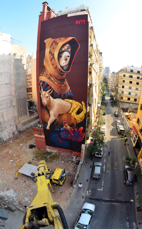 Inti El Reconocido Muralista Chileno Lanza Libro Con Su Arte