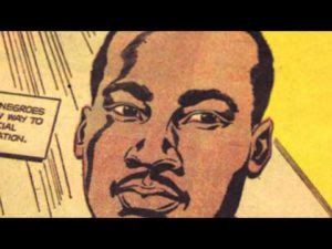Video: La storia del fumetto su Martin Luther King
