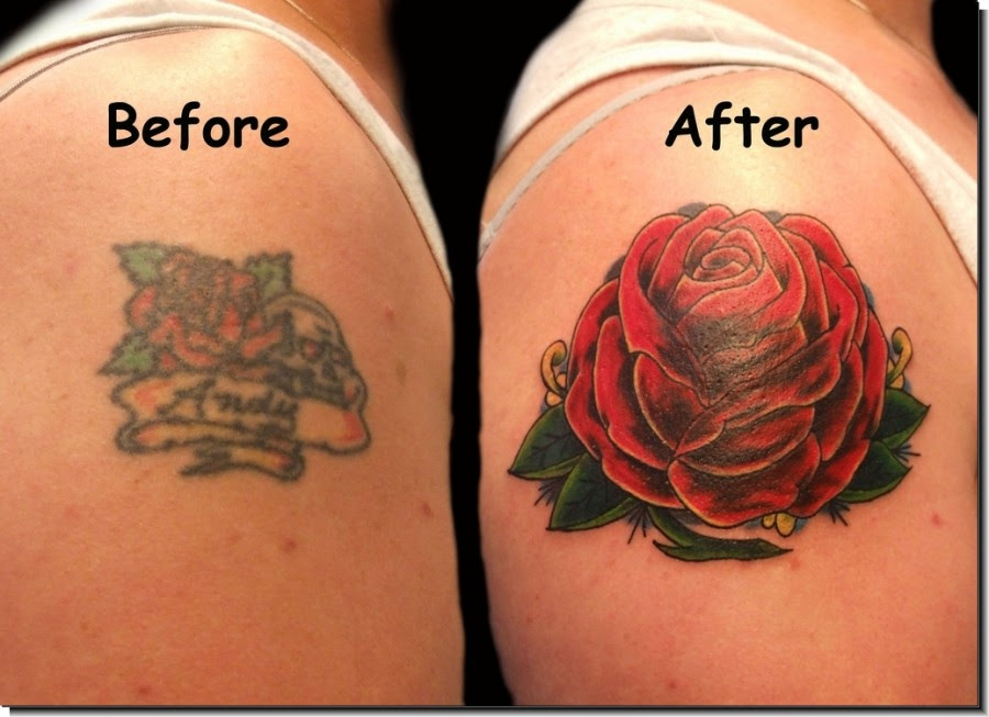 Red Rose Cover Up Arm Tattoo Designs Tattoomagz