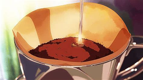 comida de anime anime aesthetic anime coffee anime