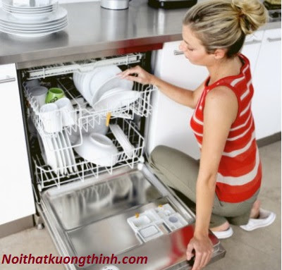 Những tiện ích nổi bật trên máy rửa bát Giovani